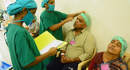 Training in OT Techniques - Aravind Eye Care System