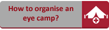 How to organise an eye camp?